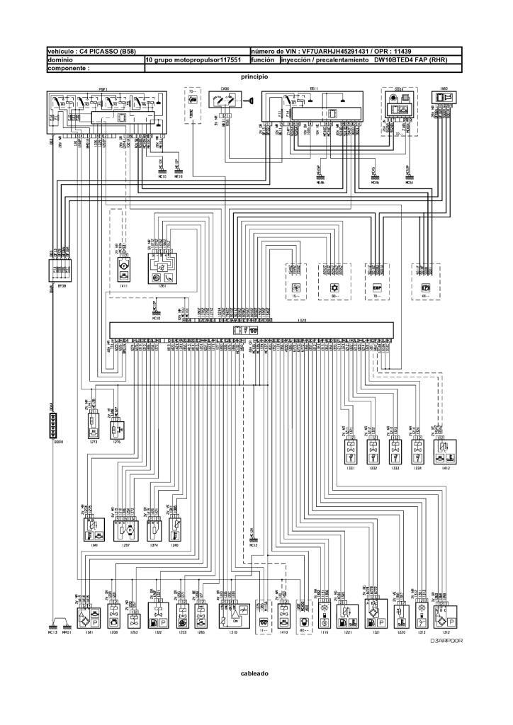 Citroen C4 Picasso Esquema Electrico Ubicacionesgestion